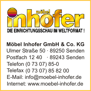 firma m bel inhofer gmbh co kg in senden branche n. Black Bedroom Furniture Sets. Home Design Ideas