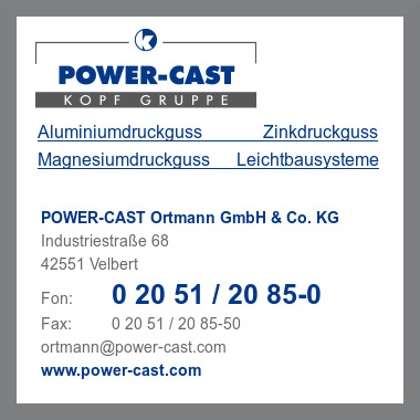 Power cast ortmann gmbh & co kg